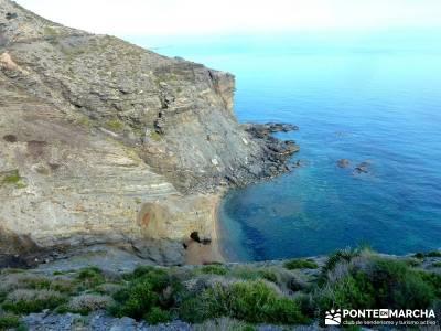 Calblanque y Calnegre - Cabo Tiñoso; viajes senderismo España; senderistas;viaje puente de mayo